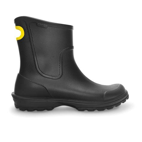 crocs wellie boot mens crocs mens wellie boot black mid height croslite