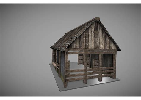 creating a low poly medieval house in blender part 1 low poly medieval house 2 3d model game ready obj 3ds