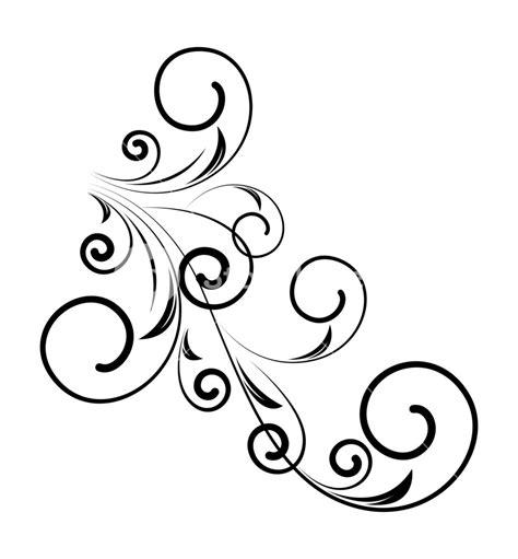 Chape Decorative by Decorative Retro Floral Shape Vector Design Royalty Free