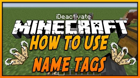 how to get a dog to use the bathroom outside how to use name tags in minecraft youtube