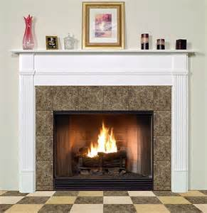 wood fireplace mantels traditional faux