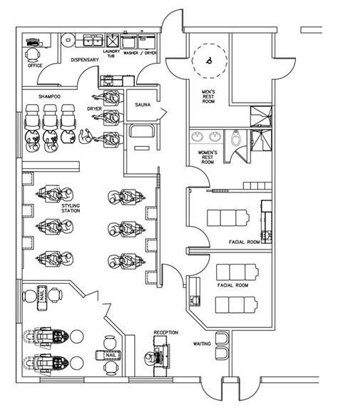 beauty salon floor plan design layout 3375 square foot beauty salon floor plan design layout 1700 square foot