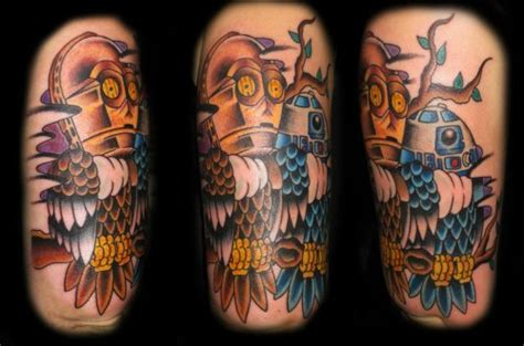 lady luck tattoo tempe owl bro
