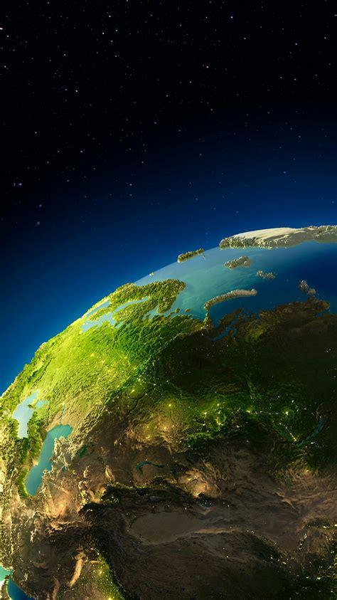 planet earth digital art  iphone wallpaper iphone