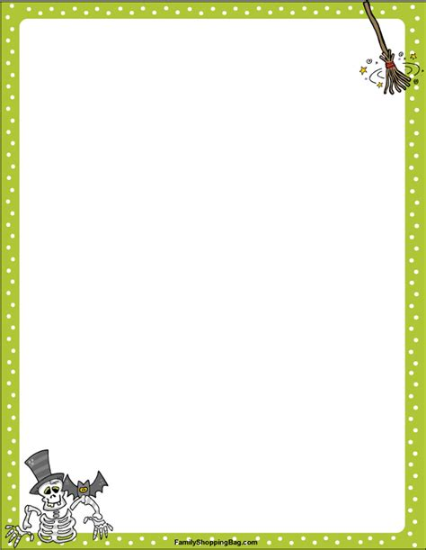 printable pumpkin stationery 5 best images of free printable halloween stationery