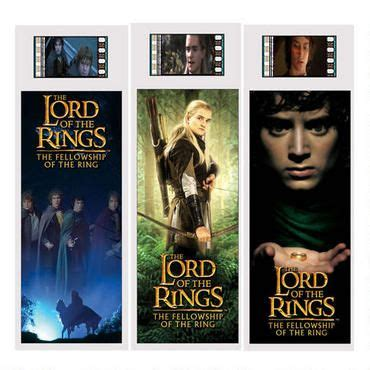 printable bookmarks lord of the rings own a piece of the lord of the rings with this film cel
