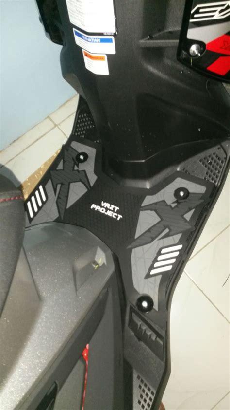 Karpet Motor Xeon Gt Motor Aksesoris Karpet Motor Vazt Untuk Yamaha X Ride Rubber Step Floor Bordes Alas Pijakan