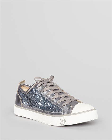 uggs sneakers sale ugg 174 australia lace up sneakers evera glitter