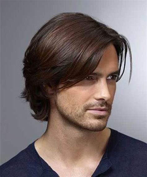 longer shaggy hairstyles for men in there thirties best 25 medium thick hairstyles ideas on pinterest