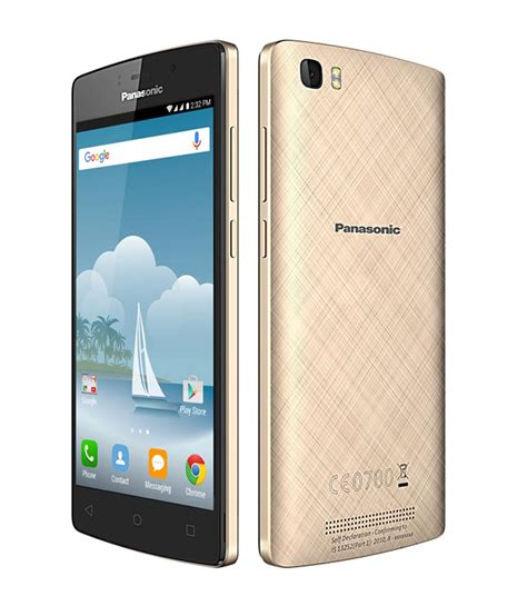 mobile p panasonic p75 with powerful 5000 mah battery at rs 5990