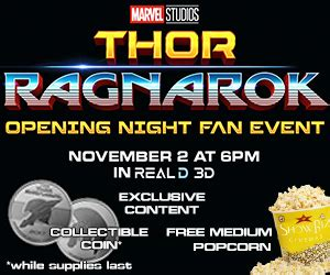 thor ragnarok opening fan event showbiz cinemas welcome
