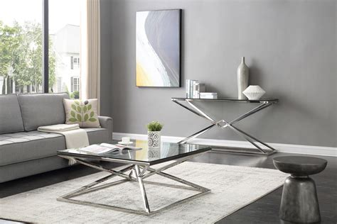 stainless steel console table stainless steel console table home console table ideal