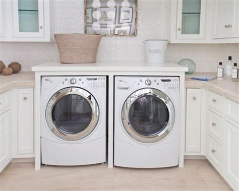counter washer dryer washer and dryer counter houzz