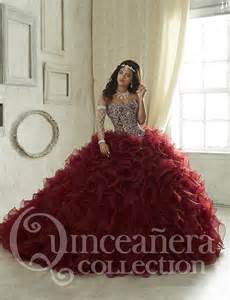 burgundy quinceanera dresses new luxury burgundy quinceanera dresses 2016 gowns organza sweetheart crystals sweet 16