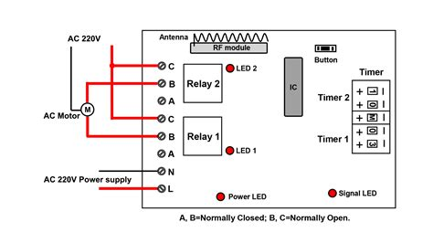 time delay relay circuit diagram wiring diagram for time delay relay wiring diagram