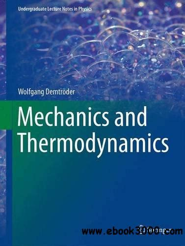 mechanics and thermodynamics 1 undergraduate lecture