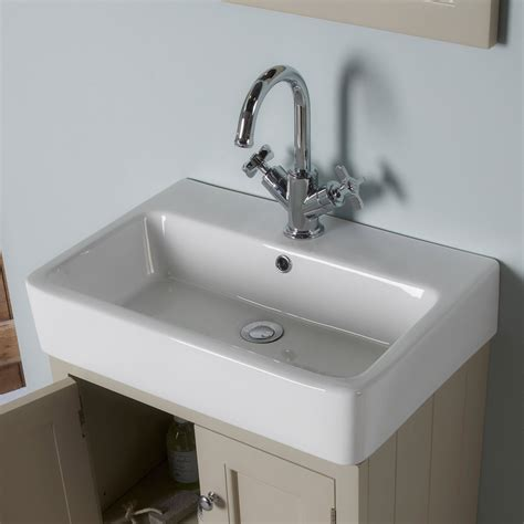Roper Rhodes Hampton 550mm Countertop Unit Mocha And Basin