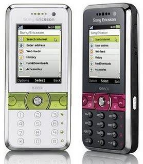 Baterai Hp Sony Ericsson K660i harga hp sony ericsson k660i