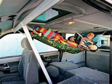 Hammock In Car 部屋作りの参考になりそうなものも 練りに練られたデザインの寝床37連発 gigazine