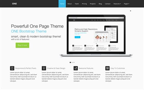 templates business bootstrap one bootstrap theme business corporate wrapbootstrap