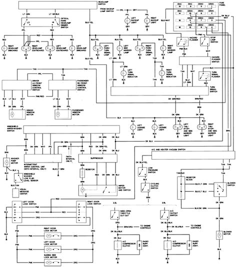 wiring diagram 1998 dodge grand caravan wiring diagram