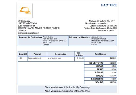 invoice journal sle invoices