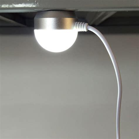 portable 3w usb led magnetic base ceiling light reading