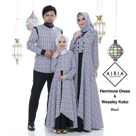 Baju Koko Untuk Keluarga baju keluarga untuk lebaran hermione dress dan weasley koko jual baju muslim kaos tas