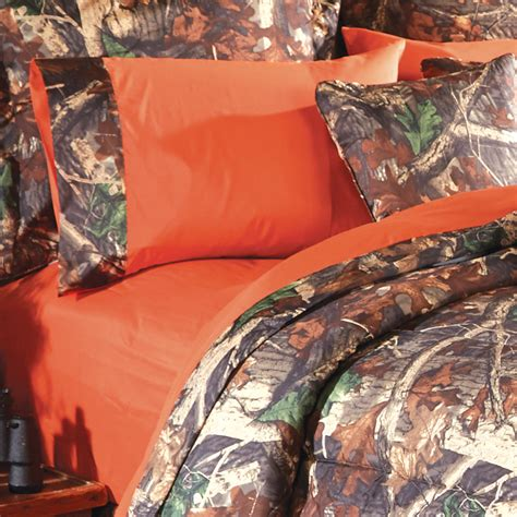 orange camo bed set camo bedding orange camo sheet sets camo trading