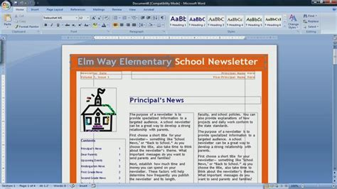 Newspaper Article Maker Newspaper Template Microsoft Word