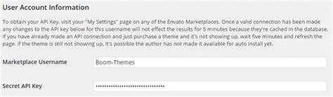 themeforest secret api key toolbox of the smart wordpress developer the envato