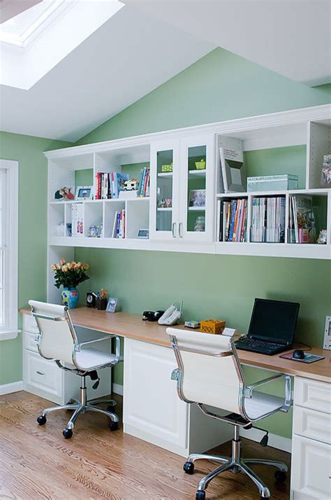 dual desk home office how to create a handy home office hirehubby