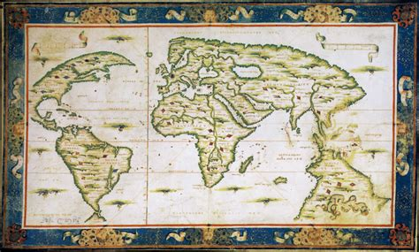 Ancient Explorer Map Vintage World - ancient maps prove portuguese explorers were the
