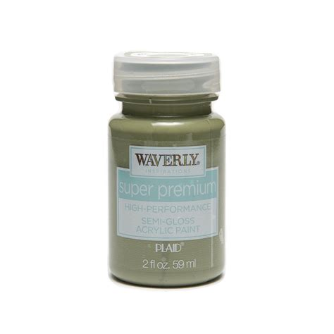 acrylic paint gloss shop plaid waverly 174 inspirations premium semi gloss
