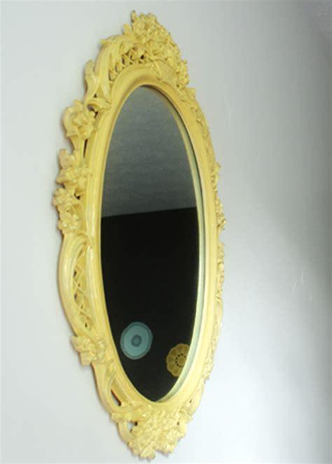 spray paint mirror diy mirror