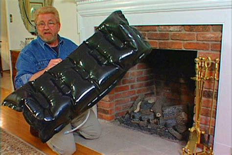 Chimney Pillow Fireplace Draft Stopper - aecinfo news the fireplace a draft stopper for