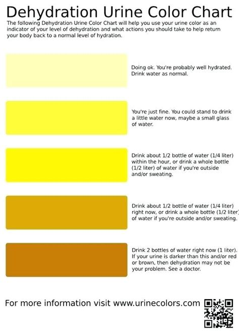 colors and what they urine color chart meaning and what they images colour