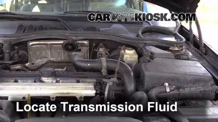 how to check transmission fluid on a 1998 mitsubishi