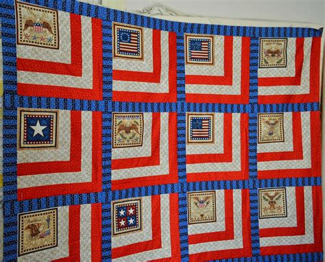 Quilt Of Valor Patterns by Attic Threads Quilts Quilts Of Valor Panel Pattern