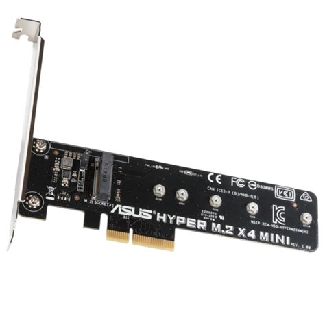 M 2 To Mini Pci E Adapter asus hyper m 2 x4 pci e mini adapter card b ocuk