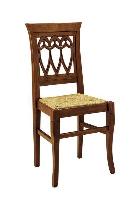 sedie arte povera sedia legno arte povera 510 bissoli