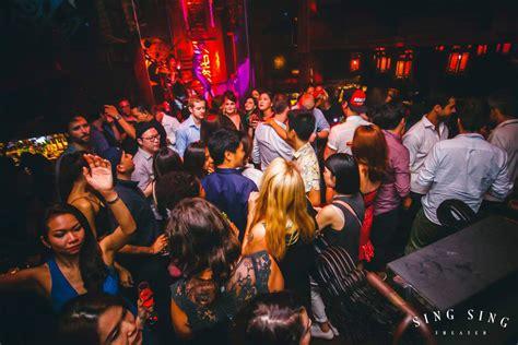 sing sing theater  bar stylish nightclub  bar