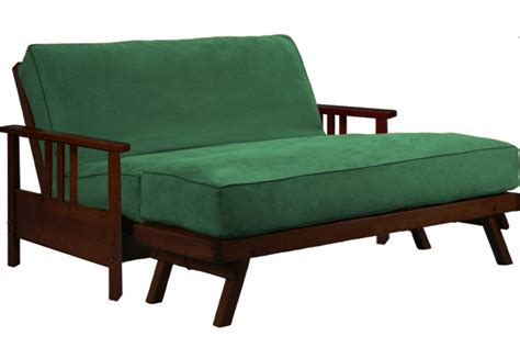 Loveseat Futon Frame by Wallhugger Loveseat Futon Frame Cherry Durango