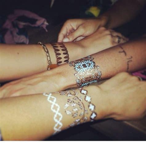 jewels hippie tattoo temporary tattoo flowers hand