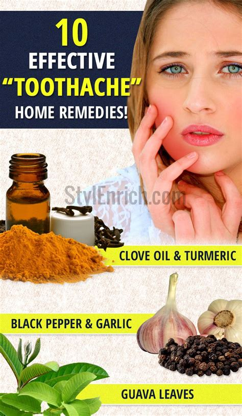 toothache home remedies effective solution for tooth