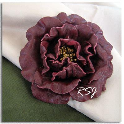rosalba fiori spilla fiore di pelle rosalba gioielli spille