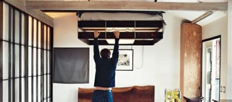 lit relevable plafond pas cher