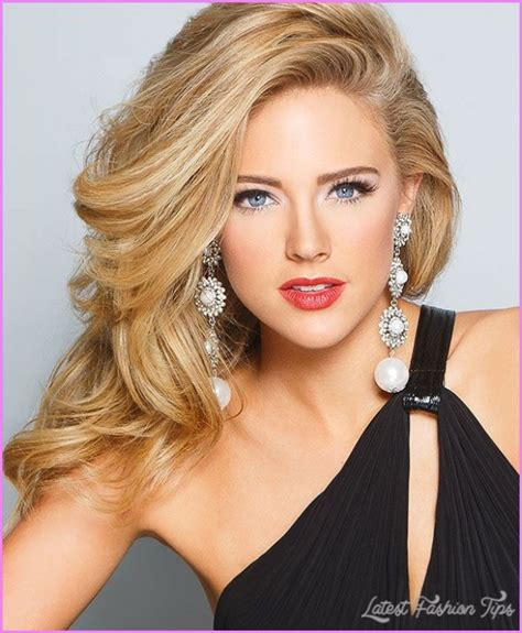 Pageant Hairstyles For Hair by Pageant Hairstyles Latestfashiontips