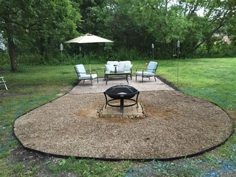diy pit with pea gravel pea gravel pit outdoor goods