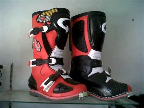 Sepatu Merk Lokal jual sepatu cross lokal merk gordon di lapak dirtbike
